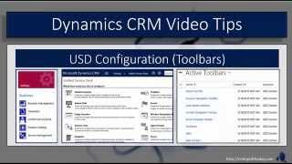 Dynamics CRM Unified Service Desk - Toolbars