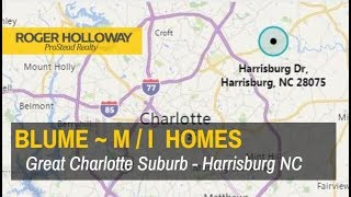 Blume subdivision from M/I Homes priced $350,000 - 500,000ish