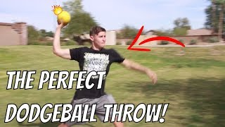 How To Throw A Dodgęball Fast And Hard