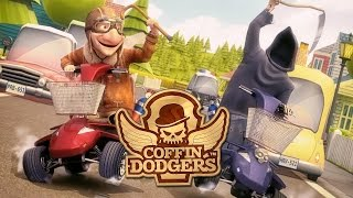 Coffin Dodgers ~ Some Split-Screen Gameplay