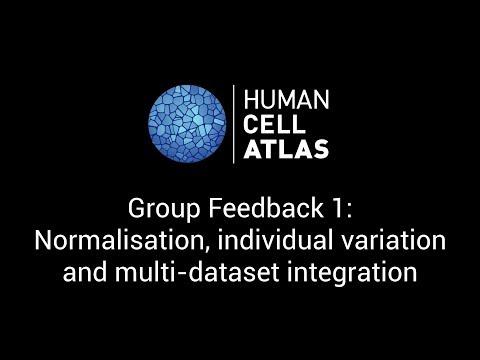 Normalisation, individual variation and multi-dataset integration - Human Cell Atlas Stockholm 2017
