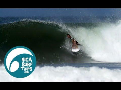 PLAYA COLORADO NICARAGUA SURF REPORT APRIL 22 2018