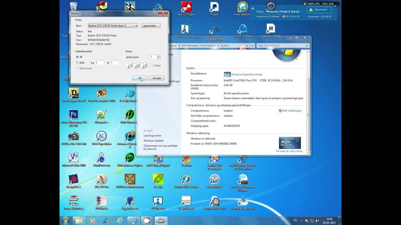 DOS command in Windows 7 32 bit - Microsoft Community