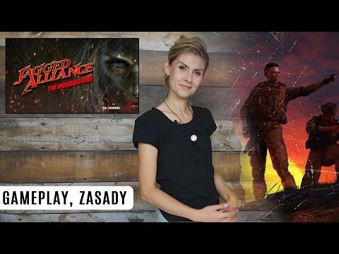 JAGGED ALLIANCE - gra planszowa. ROZGRYWKA i ZASADY from YouTube · Duration:  1 hour 6 minutes 48 seconds