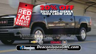Deacon Jones Buick GMC Red Tag Sales Event