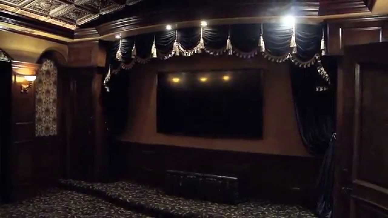 Interior design for home theatre - Home Theater Interior Design Ideas How To Dress Up An Elegant Home Cinema Room Video 83 Youtube