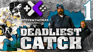 SKS Plays Deadliest Catch: Alaskan Storm Gameplay:  Our Ship and Crew  [Episode 1]