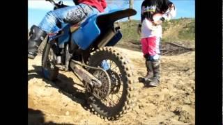 Scherzi a parte: Michele prova la moto da cross