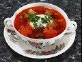 Рецепт быстрый овощной суп со свининой