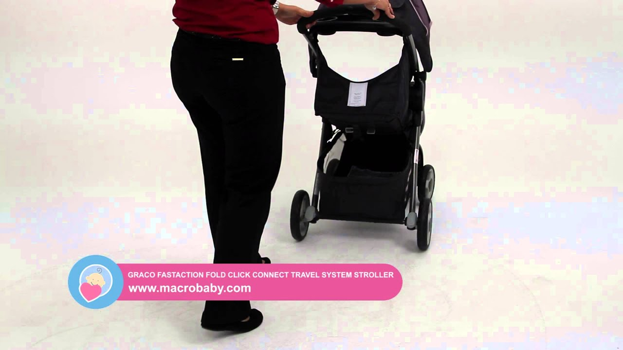 MacroBaby Graco Fastaction Fold Connect Travel System