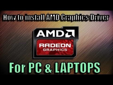 How to Download & Install AMD Radeon Graphic Driver for Laptop & PC (Official)