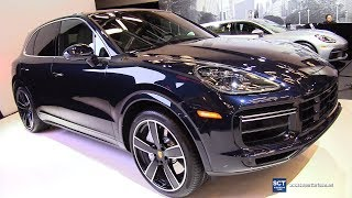 2019 Porsche Cayenne Turbo - Exterior and Interior Walkaround - Debut at 2019 Montreal Auto Show