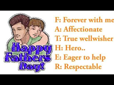Must Watch - Happy Father's Day Wishes , Greetings, whatsapp video, sms, quotes