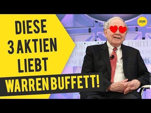 Diese 3 Aktien liebt Warren Buffett!