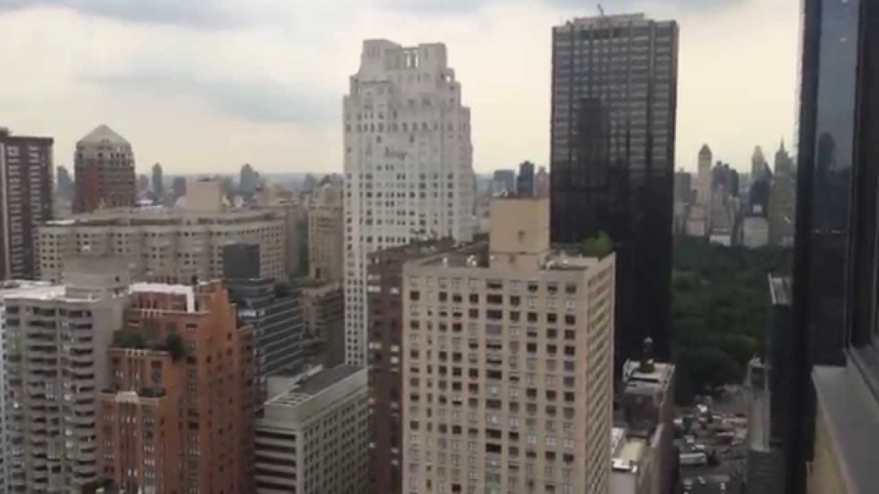 My New York City Apartment View Lincoln Square Manhattan
