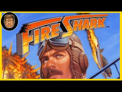 FIRE SHARK MegaDrive TRACK 3 Vice in Tokyo