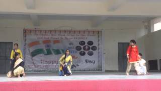 Holy Cross School Republic Day Celebration 2016 (Performance by class 6 students)