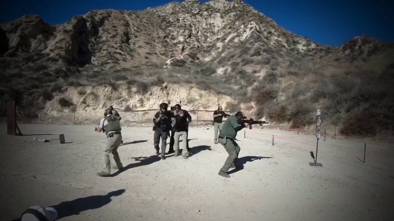 Navy SEAL Led Handgun & Rifle Combative And Seal Techniques