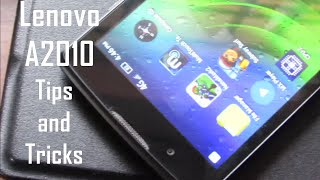 Lenovo A2010 Tips and Tricks