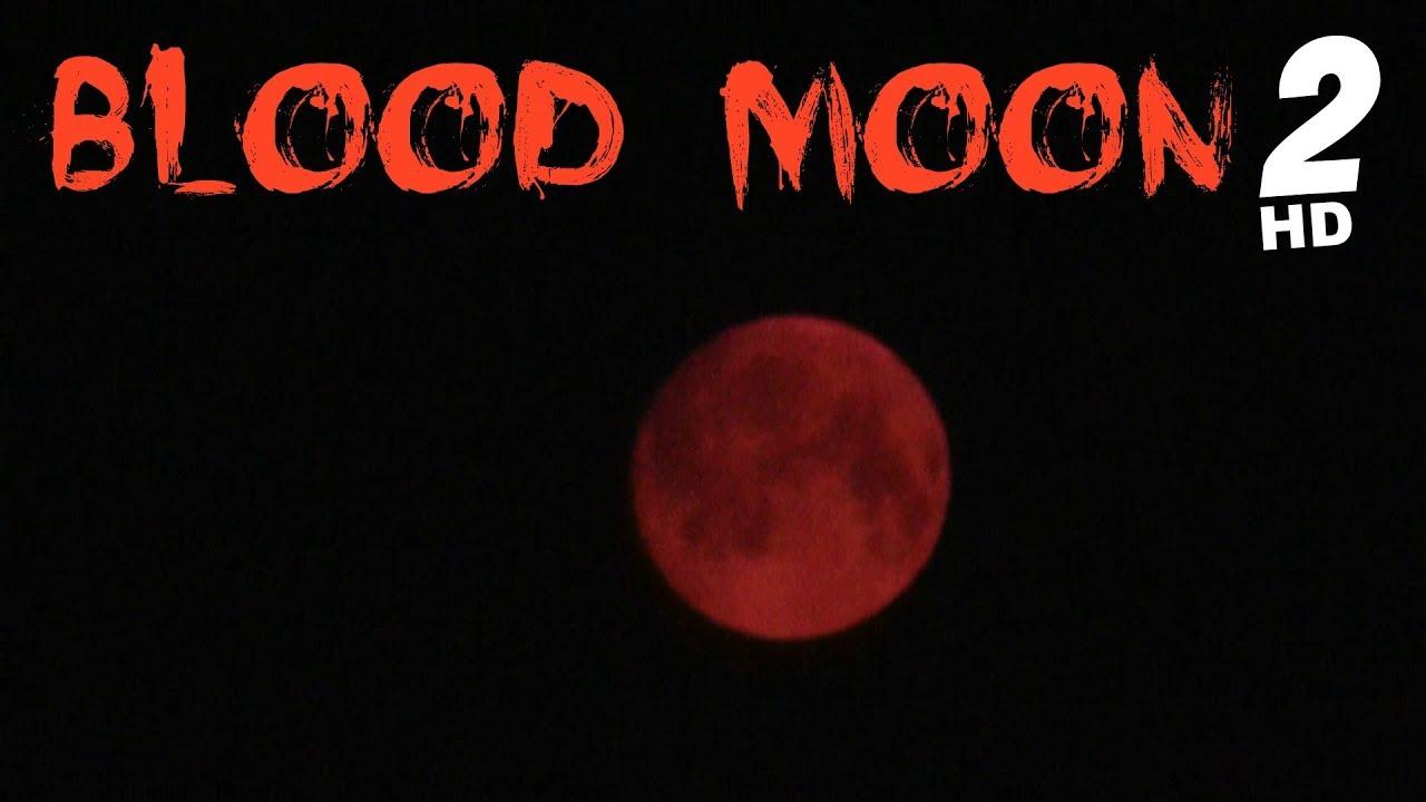 BLOOD MOON footage Sep. 4 2017 - YouTube