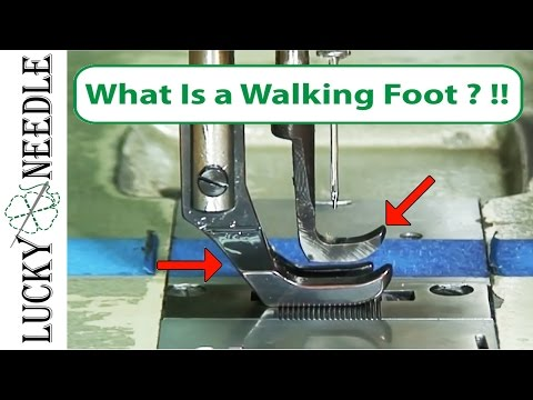 What is a Walking Foot Sewing Machine? - How it works and why you need one!