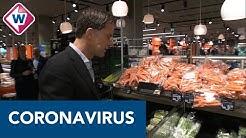 Mark Rutte brengt bezoekje aan Haagse supermarkt: 'Geef vakkenvullers de ruimte' - OMROEP WEST