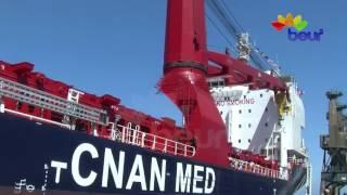 أسطول النقل البحري يتدعم ببواخر  جديدة