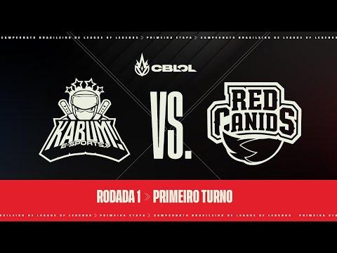 VOD: KaBuM vs RED Canids - CBLOL Split 1 - BO1