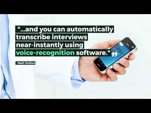 Philips SpeechAir Smart Mobile Voice Recorder Review