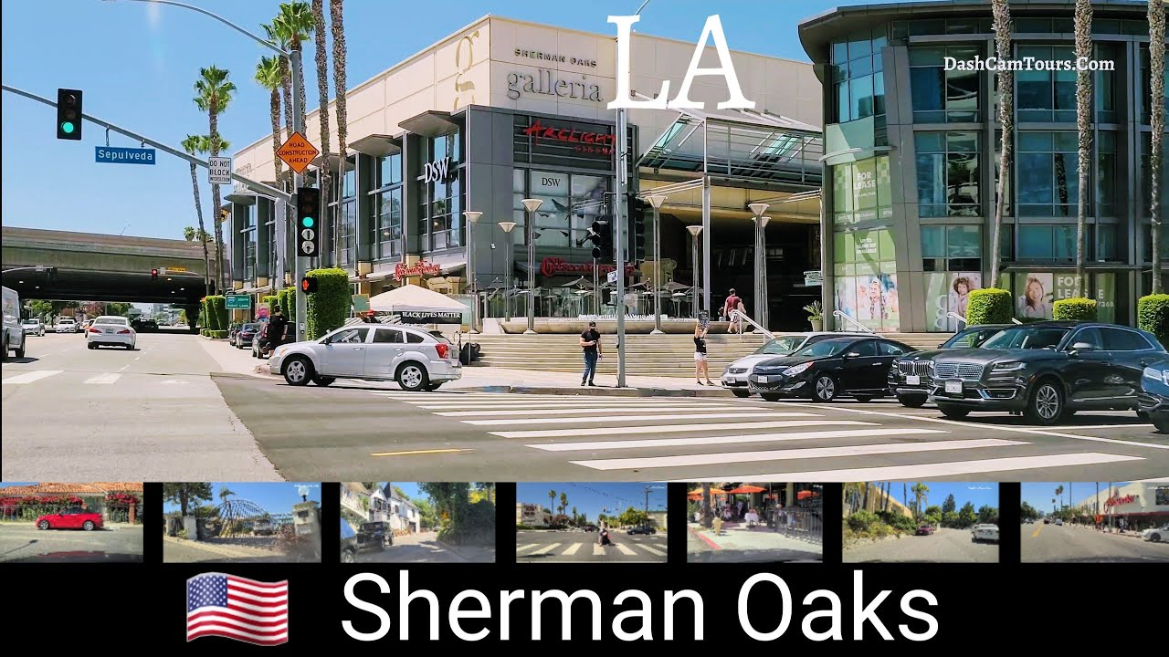 2020 Driving Tour of Sherman Oaks, California, USA [4K] Dash Cam Tours