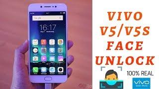 how to set facelock in vivo v5 and v5s || Face lock in vivo v5 and v5s