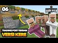VILLAGER TRADING POST TER-KERE - MINECRAFT INDONESIA MCPE #06
