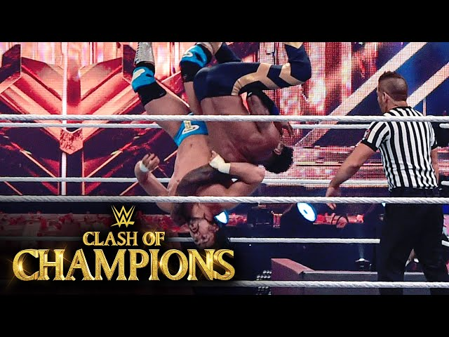 Angel Garza takes to the skies with jaw-dropping Spanish Fly (WWE Network Exclusive)