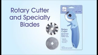 June Tailor Rotary Cutter and Specialty Blades