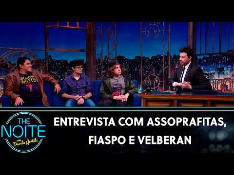 Entrevista com Assoprafitas Fiaspo e Velberan  The Noite 020819