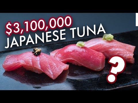 Japan's Most Expensive Tuna | $3.1Million Catch