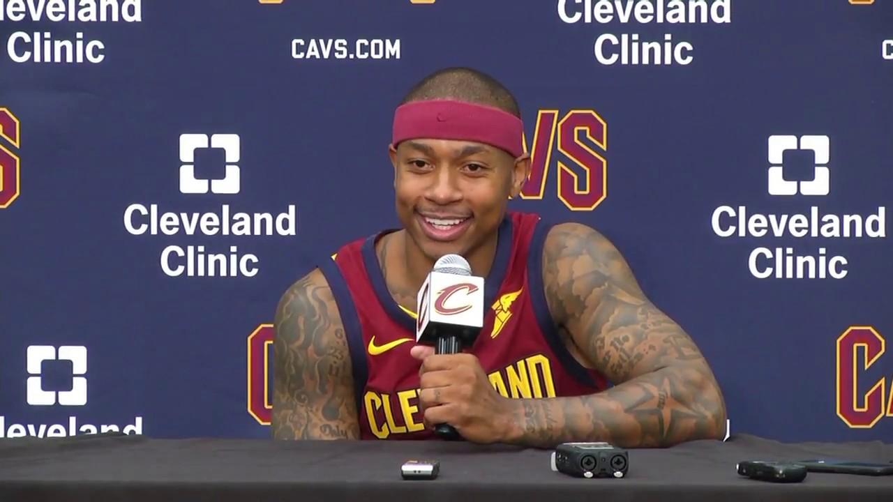 full) cavaliers' isaiah thomas press conference | 2017 nba media day