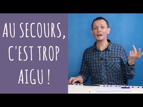 Comment chanter une chanson trop aigüe ? #Bienchanter n°21