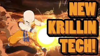 """""""KRILLIN WITH THAT NEW TECH!"""" 