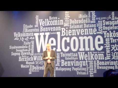 David Goulden talks about EMC's new theme at EMC World 2015