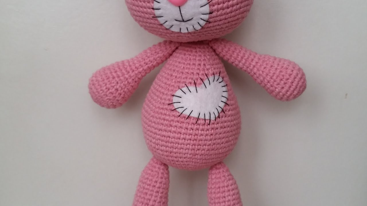 Free Amigurumi Bear Toy Softies Crochet Patterns - Mira | 720x1280