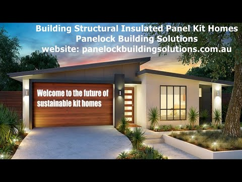 Structural Insulated Panel Kit Homes Australia-An Owner Builders Dream