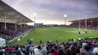 Building the Christchurch AMI Stadium within 100 days - in time for the Rugby season