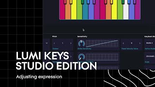 LUMI Keys Studio Edition: Adjusting Expression