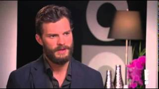 Jamie Dornan - Fifty Shades of Grey Press Junket - E!