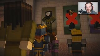 Youtubers React To THEMSELVES In Minecraft Story Mode(Another reacting video on Minecraft Story Mode. Sorry on how long the video is, but these five gamers had a ton of serious reactions! I can't believe how many ..., 2016-07-02T19:12:35.000Z)