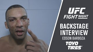 Fight Night Milwaukee: Edson Barboza - 'I Tried Everything To Finish The Fight'