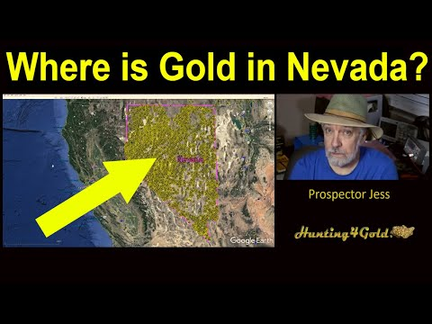 Where Can I Find Gold In Nevada? (USGS Gold Map Survey)