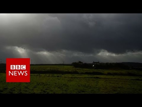 Hurricane Ophelia: Warnings as storm heads to UK – BBC News