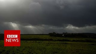 "The Met Office has warned of ""potential danger to life"" as the remn..."